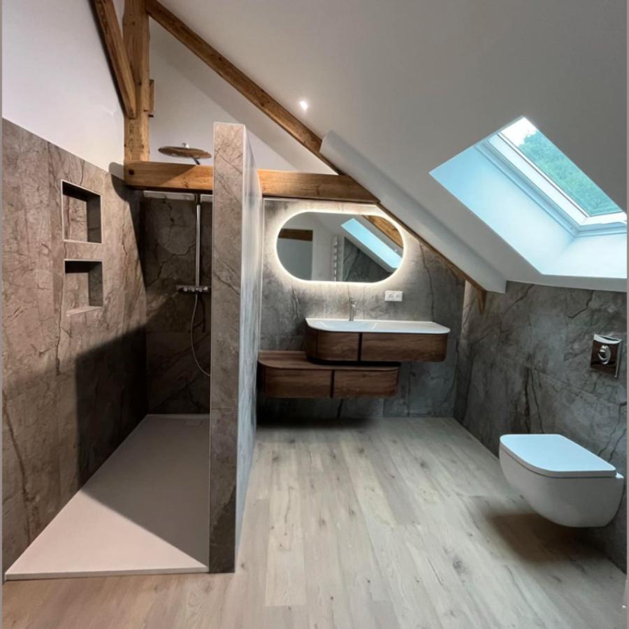 Rénovation intérieure maison - Cosqueville - Manche