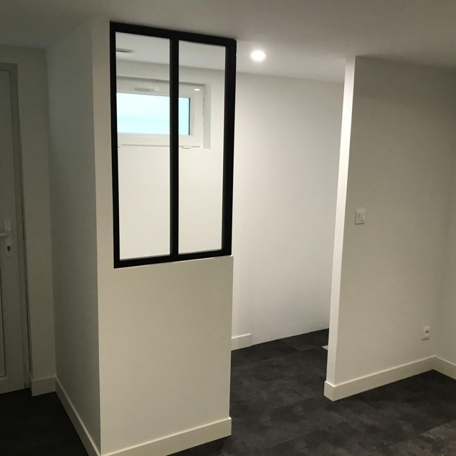 Rénovation intérieure - chambre - Equeurdreville - Manche