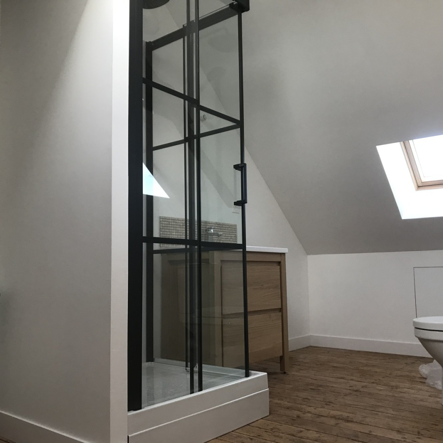 Rénovation maison - Salle de bain - Cosqueville - Manche